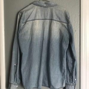 Halogen Tops - Halogen Chambray shirt